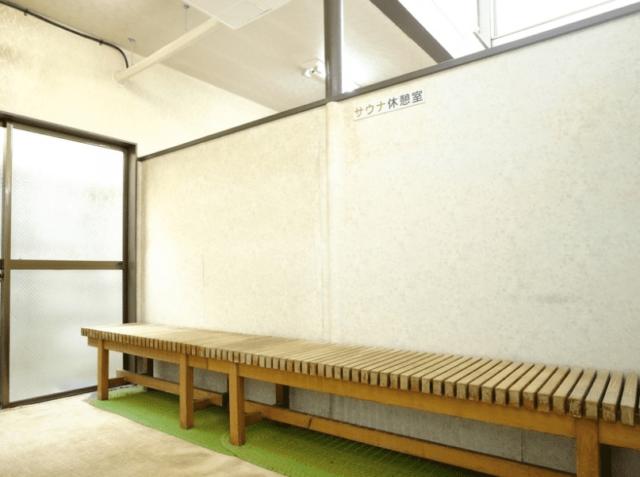 八幡湯_サウナ休憩室